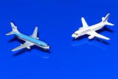 Boeing 737-2T5 Adv. KLM (Transavia) & Boeing 737-528 Air France